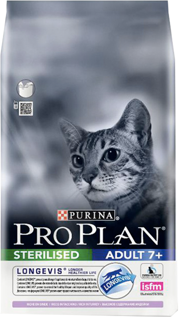Purina Pro Plan Cat Sterilised Adult 7+ Turkey 10 kg
