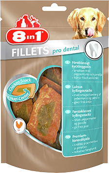 8in1 Fillets Pro Dental S 1 pakke