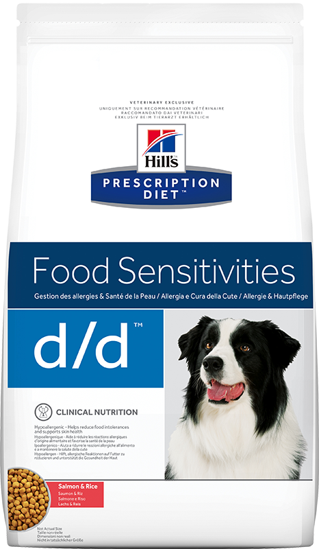 Hill's Prescription Diet Canine d/d Salmon & Rice 12 kg