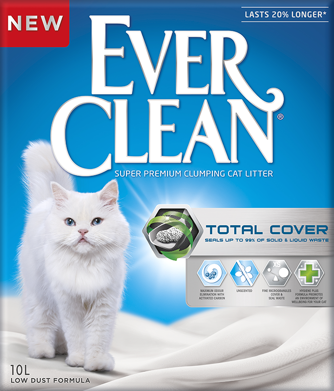 Ever Clean Total Cover Kattesand 10 L