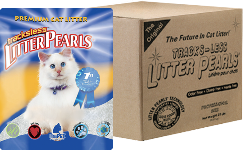 Ultra Pet Litter Pearls Trackless 9 kg