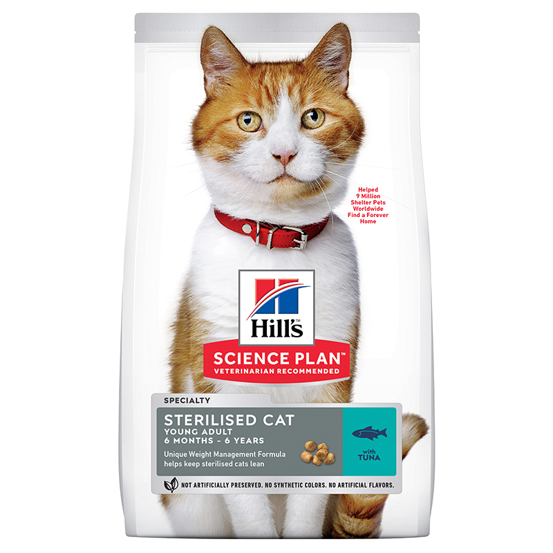 Hill's Science Plan Cat Young Adult Sterilised Tuna