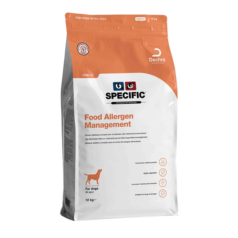Specific Dog Food Allergy Management Hydrolysed CDD-HY